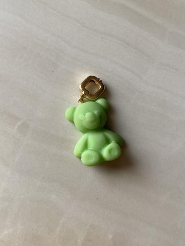 Подвеска Тедди, зеленая