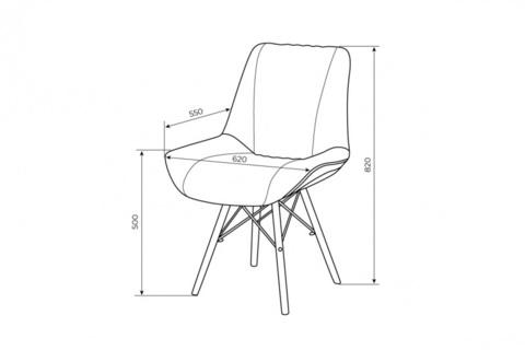 Кресло LX Шиншилла