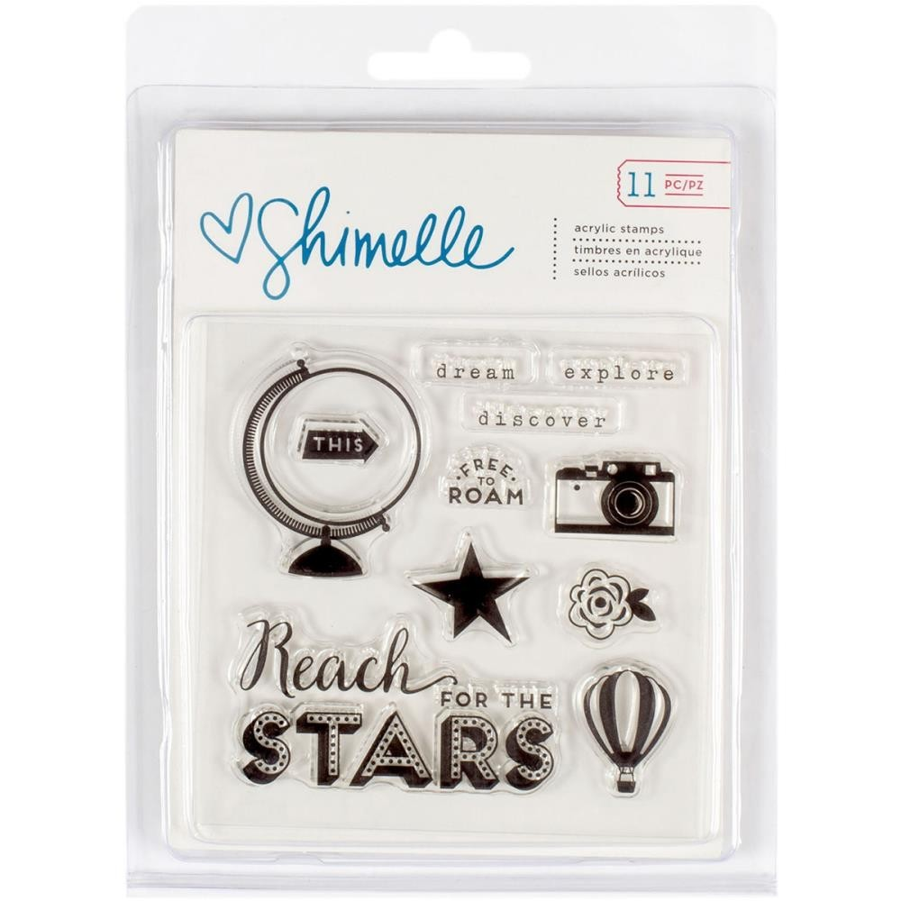 Набор  штампов Shimelle Starshine by American Crafts
