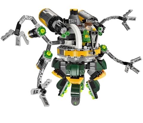 LEGO Super Heroes: Человек-паук в ловушке Доктора Осьминога 76059 — Spider-Man: Doc Ock's Tentacle Trap — Лего Супергерои Marvel Марвел DC Comics комиксы