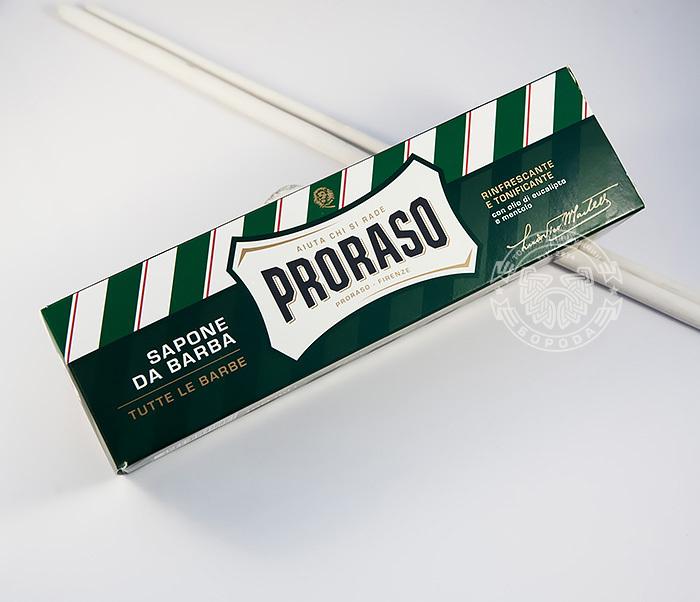 RAZ400111 Крем для бритья «Proraso» с эвкалиптом и ментолом (150 мл) фото 02
