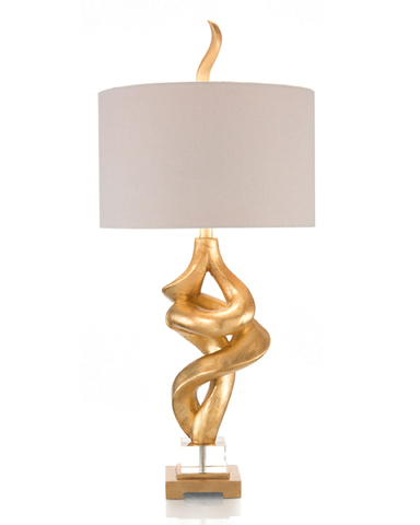 All Twisted Accent Lamp