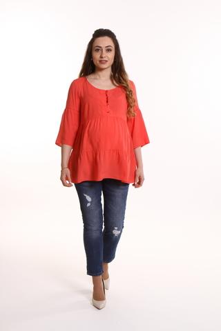 Блузка для беременных 08717 коралл