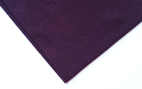 Кулирная ткань (100%- х/б) 15х15см, слива, ШТ