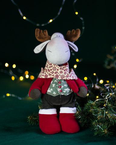 Іграшка лось Роджер. Різдвяна серія.