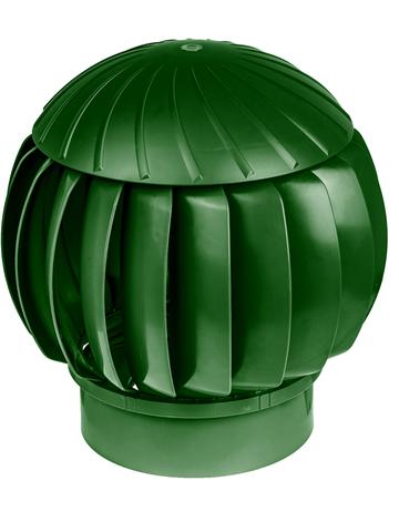 Турбина ротационная ERA RRTV D160 Green, (Нанодефлектор), вентиляционная, пластик