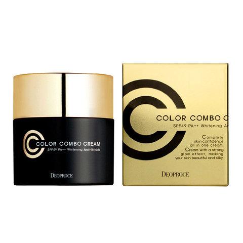 Deoproce Color Combo Cream Spf 50 Pa++ универсальный СС крем 13 тон