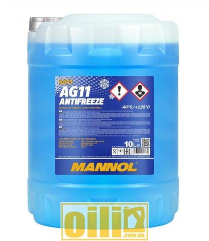 Mannol 4011 Antifreeze AG11 -40°C Longterm 10л