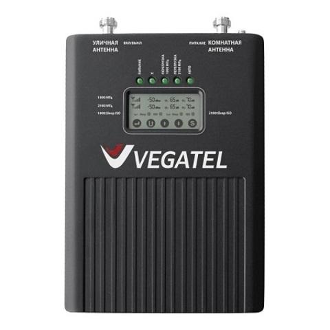 Репитер 900/1800/2100 (2G/3G/4G) VEGATEL VT3-900E/1800/3G (LED)