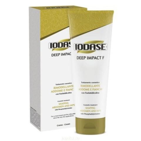 Natural Project Iodase Deep Impact: Разогревающий крем для удаления жировых отложений с фосфатидилхолином (Iodase Deep Impact F  -Fosfatidilcolina-), 200мл