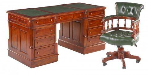 Письменный стол MJ-489 MK-2438-AN 160х75х76 см Вишня