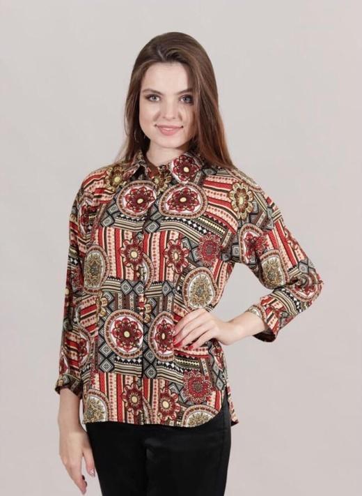 Блузка Pelipe 8144 рубашка орнамент