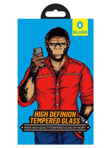 Защитное стекло BlueO для iPhone 11 Pro Max/XS Max закален. с олеоф.покр. | 2.5D рамка черное 0.26мм