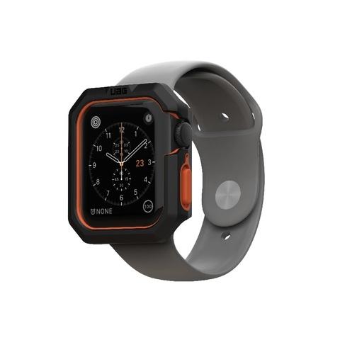 Чехол UAG Civilian Watch Case для Apple Watch 44/42 черно/оранжевый (Black/Orange)