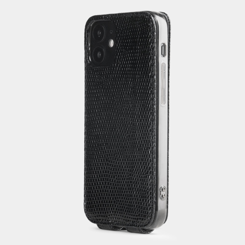 Case for iPhone 12 mini - lizard black