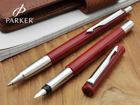 Parker Vector - Standart Red, перьевая ручка, F