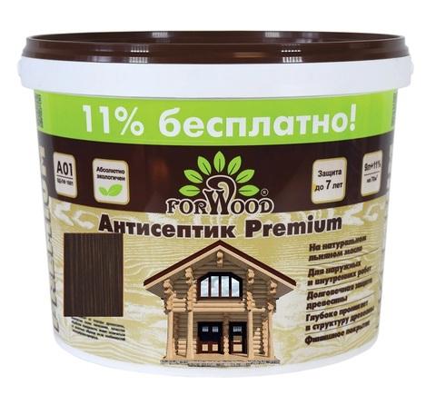 Forwood антисептик лессирующий вд-пф 1601 на льняном масле цвет палисандр 1л.