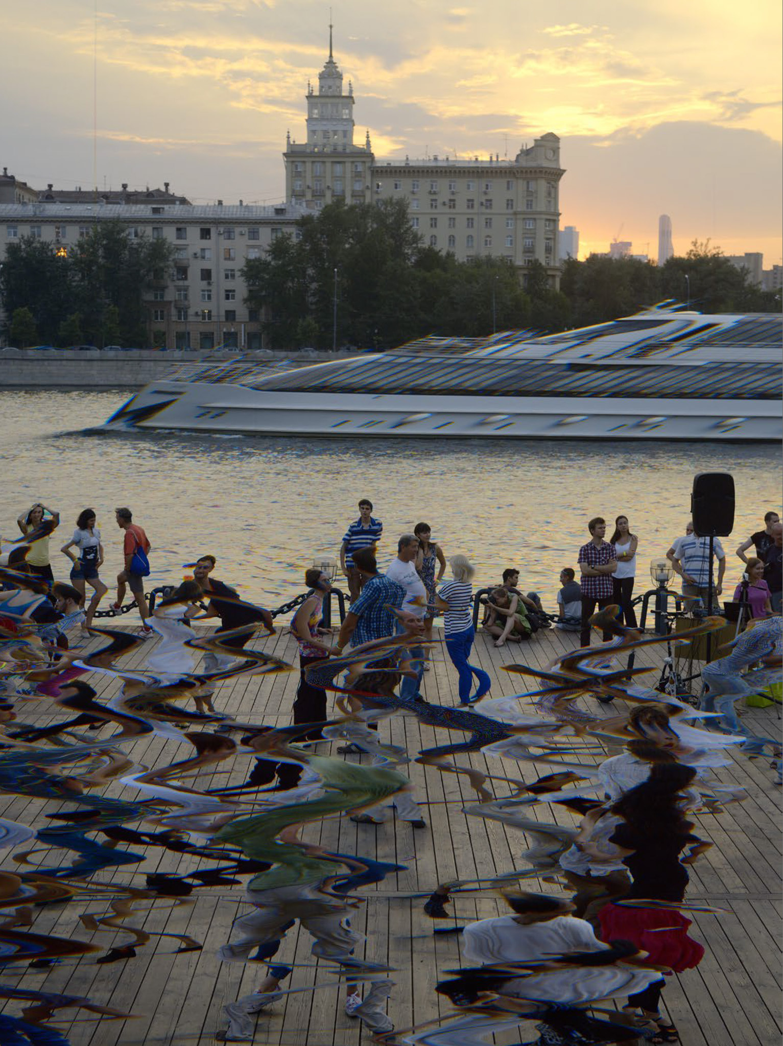 Gorky Park, Moscow, 2013