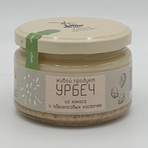 Урбеч из кокоса и абрикосовых косточек ЖИВОЙ ПРОДУКТ, 225 гр