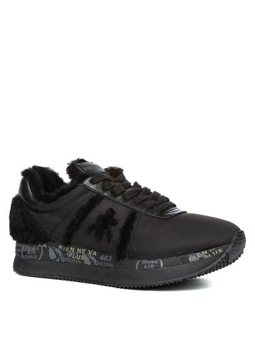 Комбинированные кроссовки Premiata Conny 4825 на меху