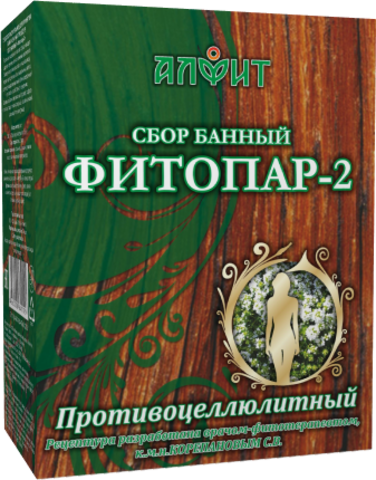 АЛФИТ сбор банный ФИТОПАР-2 Противоцеллюлитный