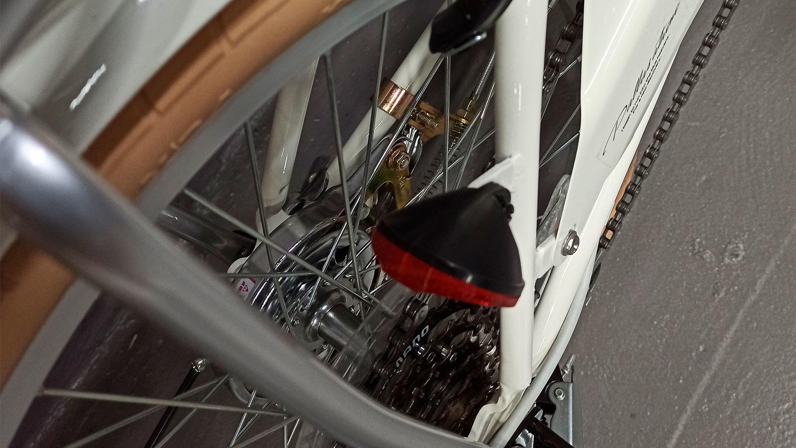 Задняя звездочка складного велосипеда