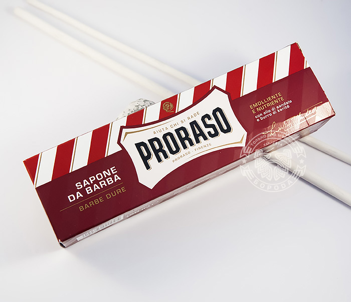 RAZ400109 Крем для бритья «Proraso» с сандалом и маслом ши (150 мл) фото 02