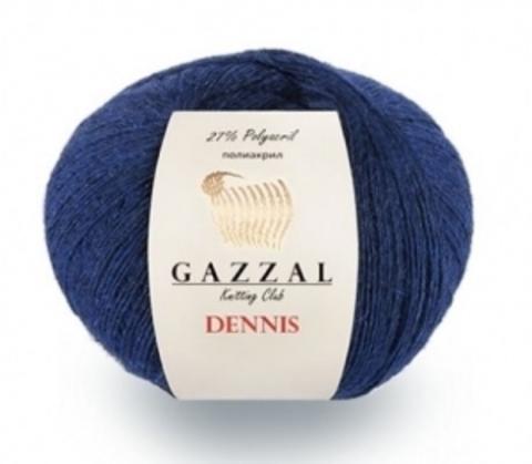 GAZZAL Dennis (48% Мериносовая шерсть, 25% Полиамид, 27% Акрил, 50 гр/500 м)