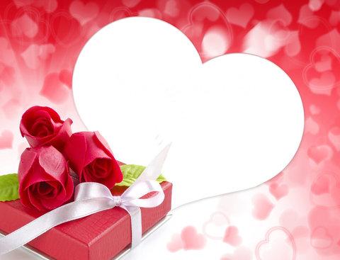 Печать на сахарной бумаге, День Влюбленных 30