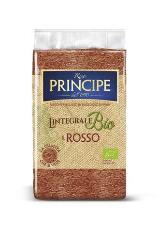 Rosso - Органический цельнозерновой длиннозёрный красный рис Riso Principe