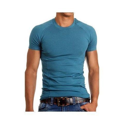 Мужская футболка изумрудная Doreanse 2535