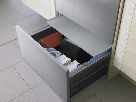 Напольный ящик с выдвижной полкой HPS532 S