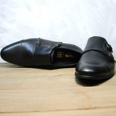 Классические мужские туфли монки Ikoc 2205-1 BLC.