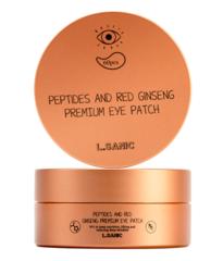 L.Sanic Premium Патчи под глаза гидрогелевые с пептидами и экстрактом красного женьшеня