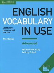 English Vocabulary in Use: Advanced Book (3rd Edition) with answers
