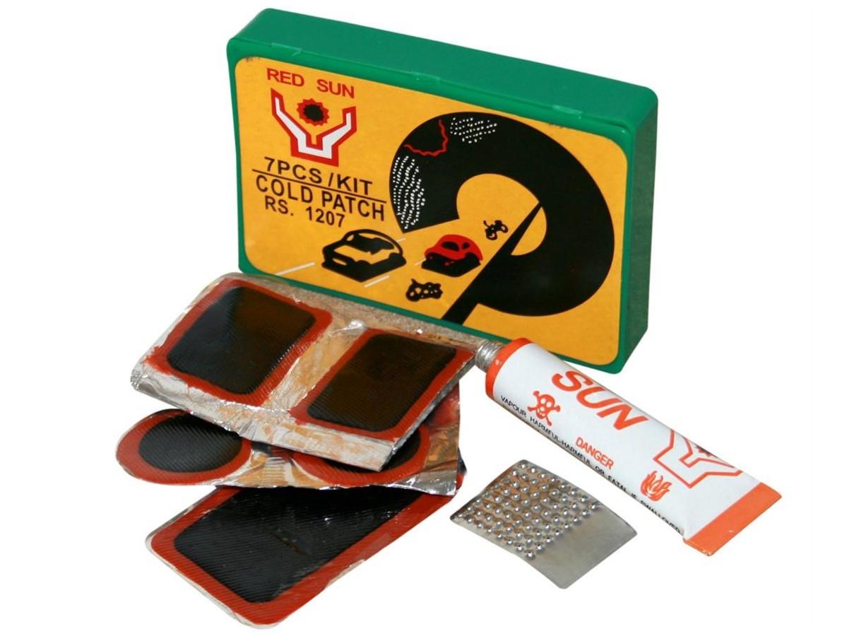 Sun Red Puncture Repair Kit