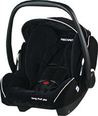Детское кресло RECARO Young Profi plus (материал верха Topline Microfibre Black/Aquavit)