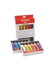 Набор акриловых красок Amsterdam Standard 12 туб по 20мл в картонной упаковке