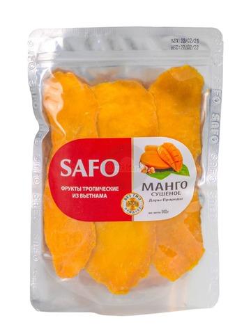 Манго сушеное SAFO 500 гр.