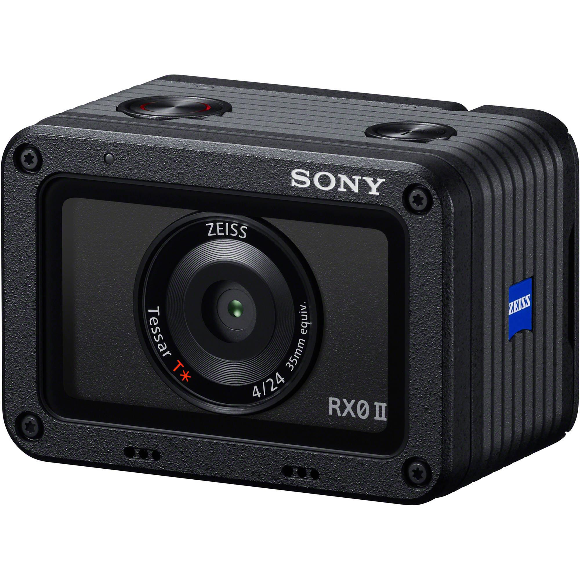 Камера Sony RX0 II в комплекте с пультом ДУ и площадкой под микрофон