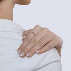 1012006 - Помолвочное кольцо из золота с бриллиантом
