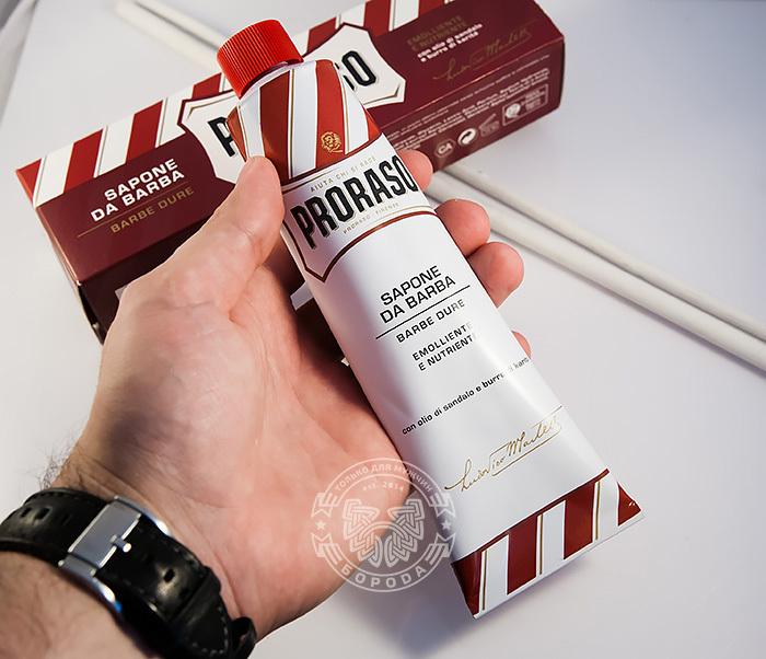 RAZ400109 Крем для бритья «Proraso» с сандалом и маслом ши (150 мл) фото 04