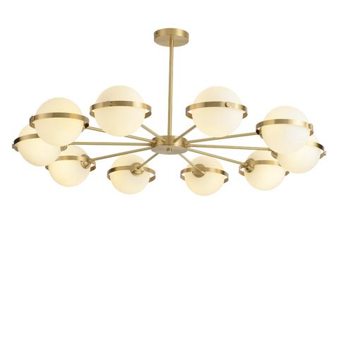 Потолочный светильник Polaris by Baroncelli (10 плафонов)