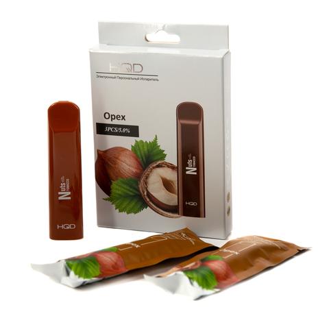 Одноразовая электронная сигарета HQD Cuvie Nuts (Орех) 1 шт