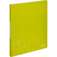 Папка файловая на 40 файлов Leitz Wow зеленая