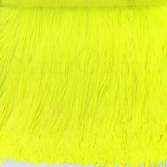 Купить бахрому оптом для украшения купальника Ultra Yellow ярко-желтую