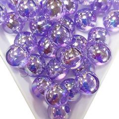 Купить оптом бусины Violet AB светло-фиолетовые в Москве