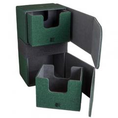 Blackfire Convertible Premium Deck Box Dual 200+ Standard Size Cards - Green