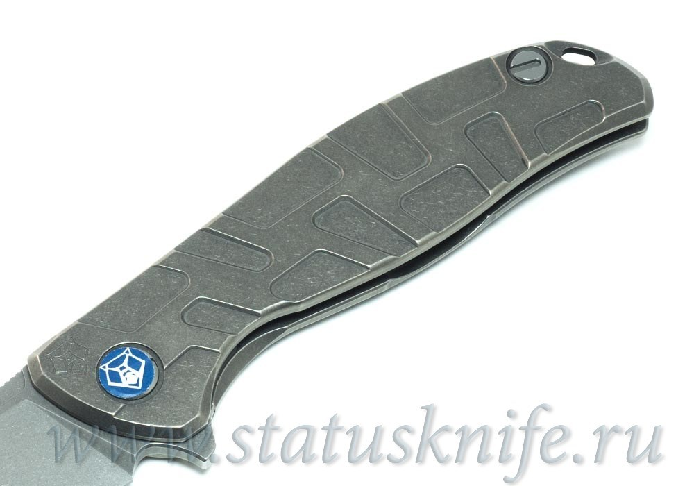 Нож Широгоров Flipper 95 R  T-узор vanax 37 - фотография