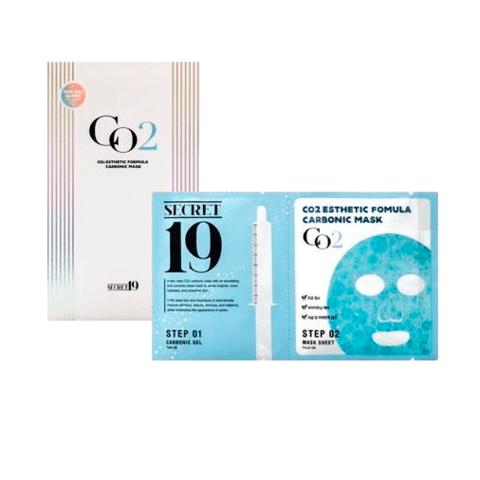 Набор карбокситерапии на 1 применение Esthetic House Secret19  Esthetic Formula Carbonic Mask
